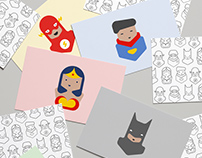 Super SuperHeroes illustration
