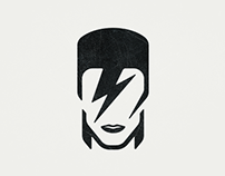 David Bowie Tribute Icon