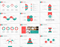 31+ Best redblue Infographic PowerPoint templates downl