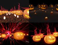 Dance Pumpkins - VJ Loop Pack (4in1)