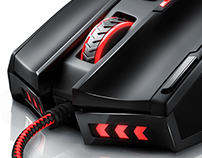 Titanwolf Gauntlet Gaming Mouse