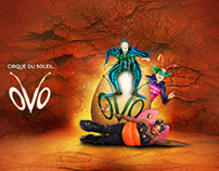Cirque du Soleil - OVO - Web Campaign