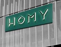 Homy // Brand Identity
