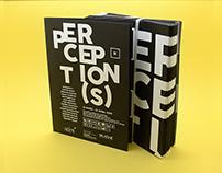 PERCETION(S) / AGREGAT Affiche et scénographie
