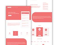 New Marketing UI/UX Design concepts