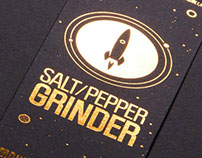 Salt & Pepper Rockets Grinders - Suck UK