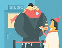 SlingTV - Infographics