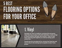 5 Best Flooring Options for Your Office (Infographic)