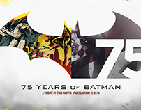 75 Years of Batman - Logo Art