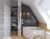 Bathroom in Bird Street Apartment