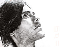 Illustration Jared Leto