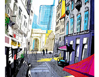 Milano postcards esposizione Spazio lambrate