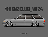 Mercedes W124/S124