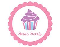 Sima's Sweets- Logo