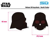 3D Star Wars Keyrings