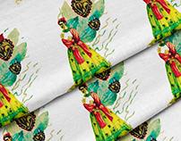 Little Frida Textile