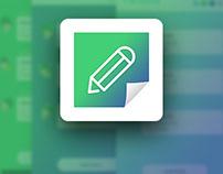 [UI Design] I'm Note App