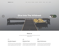UNFOLDTHEME - In progress - Landing Page