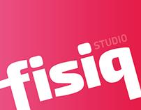 Logo design - fisiq - Fitness Studio, Milan