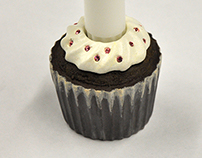 Cupcake Candle Holder
