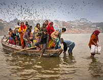 Varanasi, Agra, Haridwar