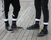 ЛЕВЫЙ КОРОННЫЙ, ПРАВЫЙ ПОХОРОННЫЙ | Носки | Socks