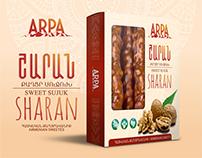 """Armenian sweet sujuk """"Sharan"""""""