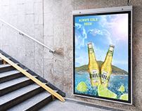 Chill product advertising poster