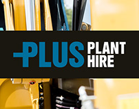 Plus Plant Hire Rebrand Proposal