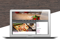 Material Food • Wordpress Theme