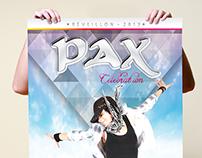 Réveillon Pax Celebration - Identidade Visual