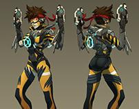 Overwatch  fan-skin