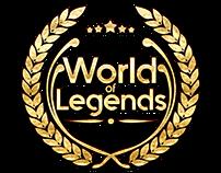 World Of Legends logo design