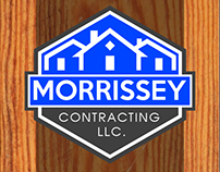 Morrissey Contracting LLC. Business Card Design