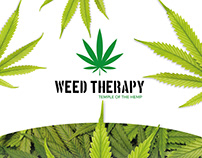 Brand identity - Weed Therapy
