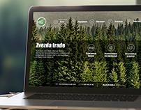 Web site for Zvezda Trade