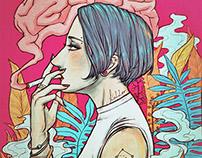 Smoke brain.