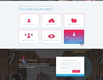 Video Companey web page design