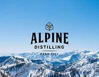 ALPINE DISTILLING mini site development and design