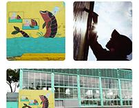 Espíritu del agua, mural para Hidroarte Sacmex