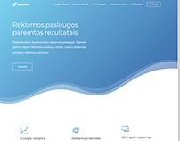 Digital Star agency website design