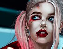 Harley quinn / illustration