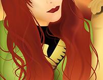 X-Men Selfies - Jean Grey / Phoenix Illustration