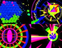 Crazy Color - VJ Loop Pack (4in1)