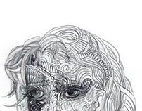 Girl face design