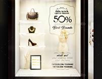 Shop Window Flyer Template