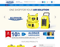 ALORAIR Website Design