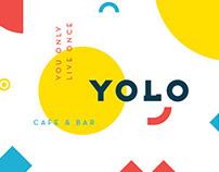 YOLO CAFE&BAR / Brand Identity