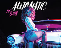 "Lil' Bitts single cover for ""automatic"""