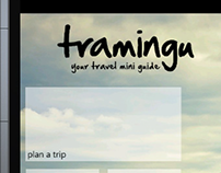 Tramingu! Your Travel Mini Guide! Mobile App Concept